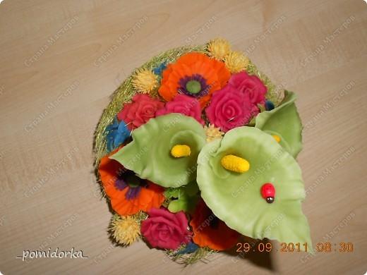 розы,маки, каллы фото 3