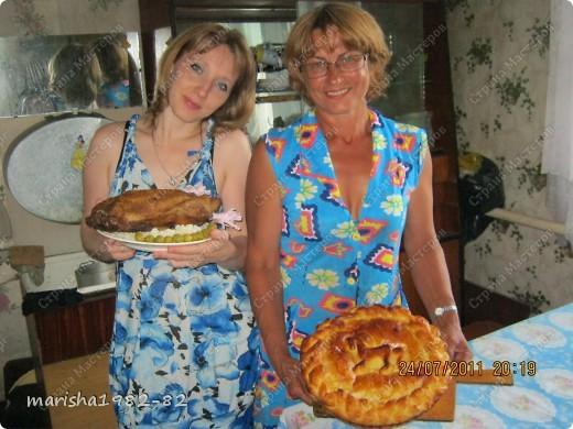 Тортик на День рожденье мужу!!! Спасибо мастерицам за идею тортика!!! Извините, я не помню у кого видела такой тортик. Но большое вам спасибо, очень уж тортик всем понравился! фото 5