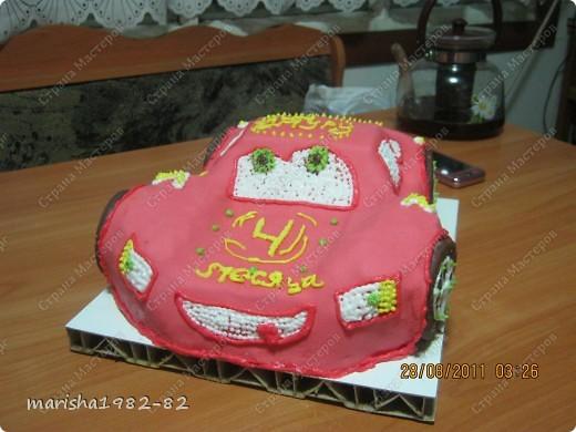 Тортик на День рожденье мужу!!! Спасибо мастерицам за идею тортика!!! Извините, я не помню у кого видела такой тортик. Но большое вам спасибо, очень уж тортик всем понравился! фото 7