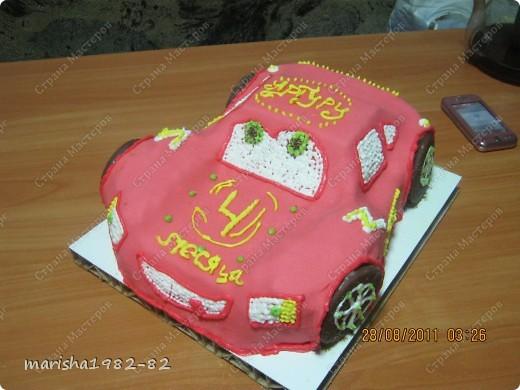Тортик на День рожденье мужу!!! Спасибо мастерицам за идею тортика!!! Извините, я не помню у кого видела такой тортик. Но большое вам спасибо, очень уж тортик всем понравился! фото 8