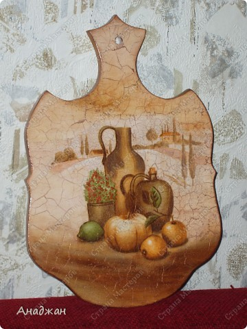 """Набор """"Лаванды аромат"""" Основа - стекло, деверо, салфетки 2-х видов, акриловые краски, пастель фото 9"""