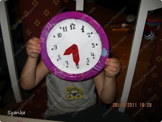 Самодельные часы. За 30 мин + пошаговый МК фото 1