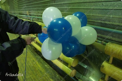 Мастер-класс Плетение МК Гирлянда из воздушных шаров Шарики воздушные фото 15