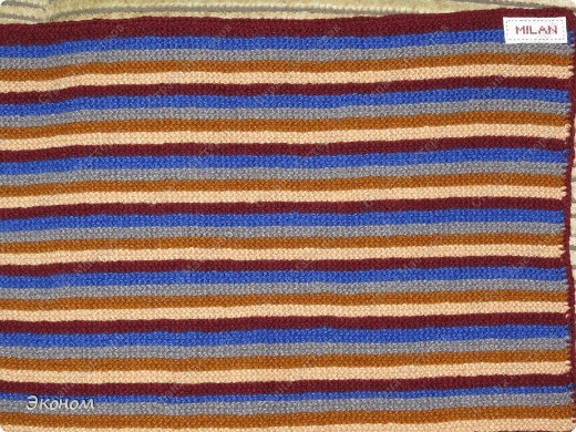 Одеяльце-коврик связала для Милана на подарок фото 1