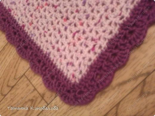 День рождения Вязание крючком Плед для ребеночка Нитки фото 5