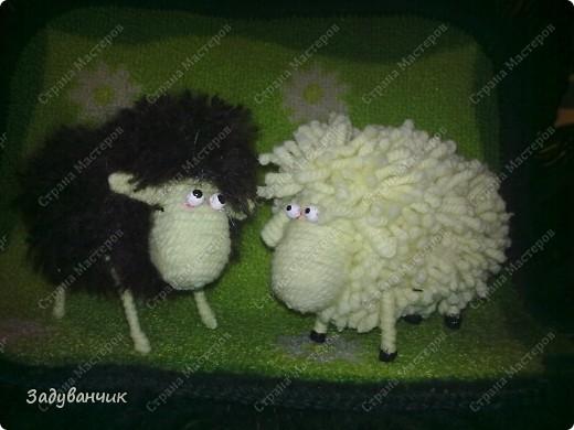 Как сделать овечку из ниток