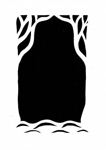 Давно мечтала сделать бумажный туннель. Погуляв по просторам Интернета, нашла замечательную работу мастерицы Страны yalo (https://stranamasterov.ru/node/59811?tid=1411). Она так меня захватила. К сожалению, не было шаблонов. Пришлось их самой рисовать согласно образцу. Немного изменила рисунок.   фото 6