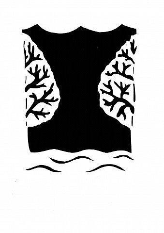 Давно мечтала сделать бумажный туннель. Погуляв по просторам Интернета, нашла замечательную работу мастерицы Страны yalo (https://stranamasterov.ru/node/59811?tid=1411). Она так меня захватила. К сожалению, не было шаблонов. Пришлось их самой рисовать согласно образцу. Немного изменила рисунок.   фото 8