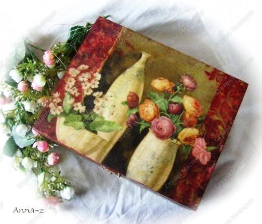 """Шкатулка """"Цветы в фарфоровой посуде"""" фото 1"""