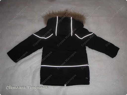 Куртка пошита по модели №20 из журнала Ottobre 1/2006 фото 5