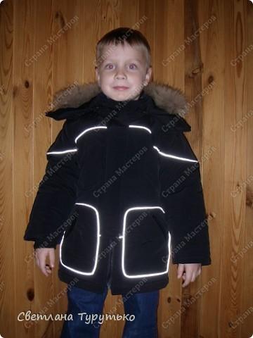 Куртка пошита по модели №20 из журнала Ottobre 1/2006 фото 2