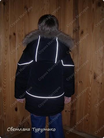 Куртка пошита по модели №20 из журнала Ottobre 1/2006 фото 3