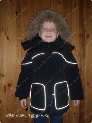Куртка пошита по модели №20 из журнала Ottobre 1/2006 фото 1
