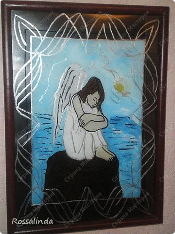 Первая моя работа  ,,Печальный ангел,, фото 1