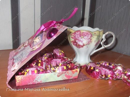 """Рада всех видеть!!!! Представляю для  вас """"Коробочку оригами для сладкоежки""""!!! Послужит хорошим подарком на любой праздник!!! фото 3"""