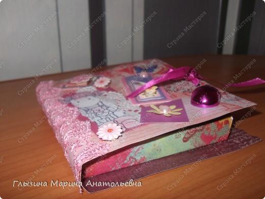 """Рада всех видеть!!!! Представляю для  вас """"Коробочку оригами для сладкоежки""""!!! Послужит хорошим подарком на любой праздник!!! фото 2"""