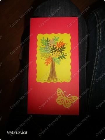 Тортик и открытка. фото 3