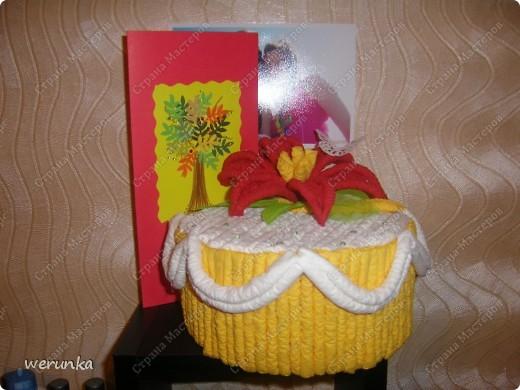 Тортик и открытка. фото 5