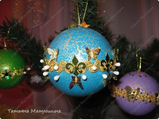 Новогодние шарики. фото 8