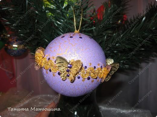 Новогодние шарики. фото 9
