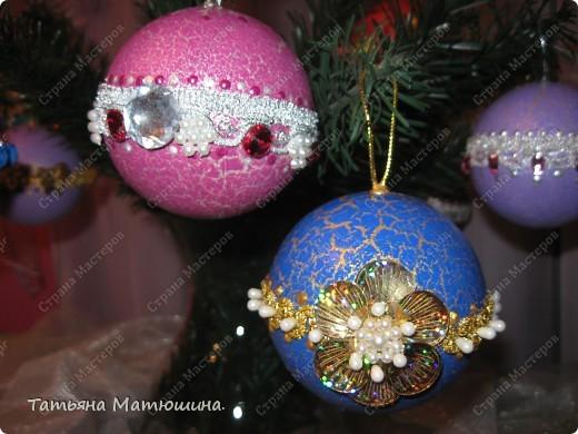 Новогодние шарики. фото 11