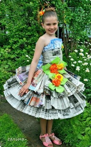 Платья из своими руками на конкурс