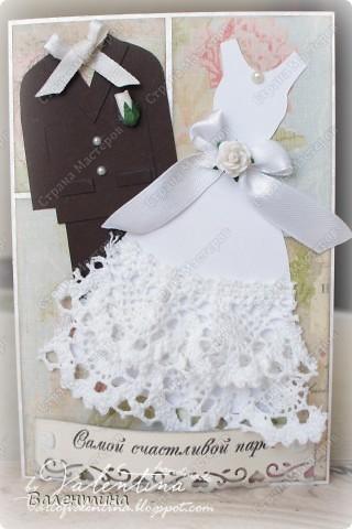 №1. Это свадебная открыточка на октябрь, с отрывным календариком (: фото 2