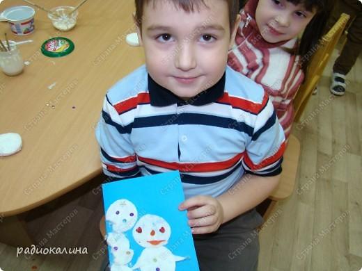 Вот какие предновогодние Снеговик и Елочка поселились в нашей комнате. Они пушистые и такие милые. фото 8