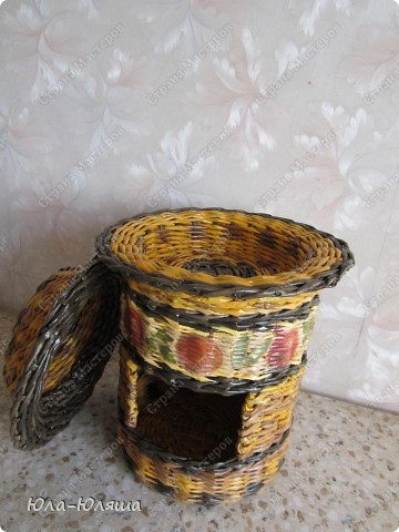 Домик для лука и чеснока фото 2