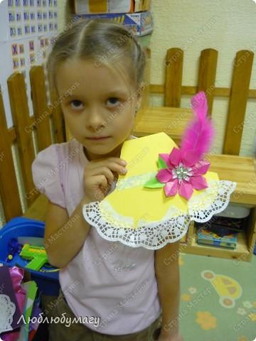 Мастерили мы с детьми 6-11 лет большие открытки-шляпы. Идея использована из блога Татьяны Просняковой.  https://stranamasterov.ru/node/8052 фото 2