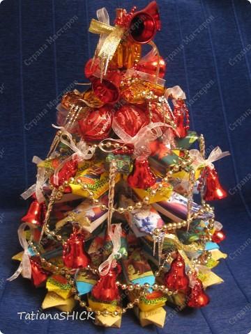 Мои Елочки-Бусы,колокольчики,сосульки,банты,конфеты. фото 1
