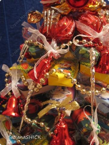 Мои Елочки-Бусы,колокольчики,сосульки,банты,конфеты. фото 6