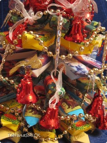 Мои Елочки-Бусы,колокольчики,сосульки,банты,конфеты. фото 4
