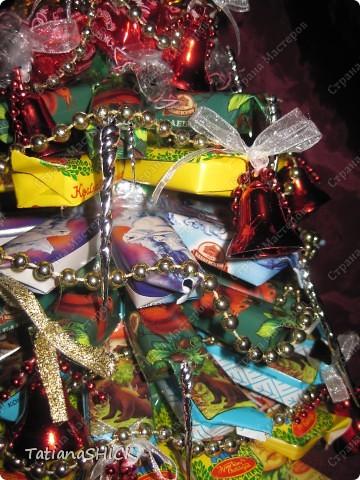 Мои Елочки-Бусы,колокольчики,сосульки,банты,конфеты. фото 3