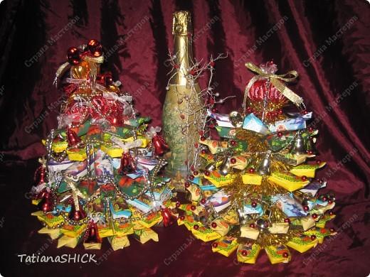 Мои Елочки-Бусы,колокольчики,сосульки,банты,конфеты. фото 2