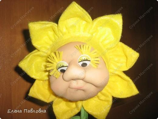 Всем доброго дня!Рада,что зашли в гости!Давно мечтала сделать такой цветок.И вот,наконец-то,он родился!Личико и ручки делала по замечательным мастер-классам pawy.Не перестаю,и не устаю ее благодарить. фото 3