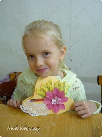 Мастерили мы с детьми 6-11 лет большие открытки-шляпы. Идея использована из блога Татьяны Просняковой.  https://stranamasterov.ru/node/8052 фото 7