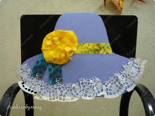 Мастерили мы с детьми 6-11 лет большие открытки-шляпы. Идея использована из блога Татьяны Просняковой.  https://stranamasterov.ru/node/8052 фото 13