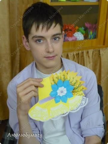 Мастерили мы с детьми 6-11 лет большие открытки-шляпы. Идея использована из блога Татьяны Просняковой.  https://stranamasterov.ru/node/8052 фото 16