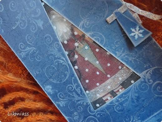 """Поставлю и этого красавца в задание СкрапМагии """"Новый год"""" Там столько красивостей, может, ему придется там по душе http://scrapmagia-ru.blogspot.com/2011/11/blog-post_23.html  Вот такой неожиданно ангельский  дед Мороз он же Санта Клаус появился на свет для маленького трогательного мальчика, который видит мир через призму своего счастливого детства, широко раскрытыми глазами . фото 3"""