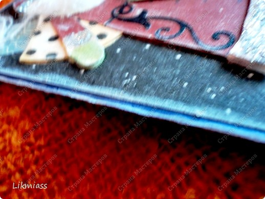 """Поставлю и этого красавца в задание СкрапМагии """"Новый год"""" Там столько красивостей, может, ему придется там по душе http://scrapmagia-ru.blogspot.com/2011/11/blog-post_23.html  Вот такой неожиданно ангельский  дед Мороз он же Санта Клаус появился на свет для маленького трогательного мальчика, который видит мир через призму своего счастливого детства, широко раскрытыми глазами . фото 16"""