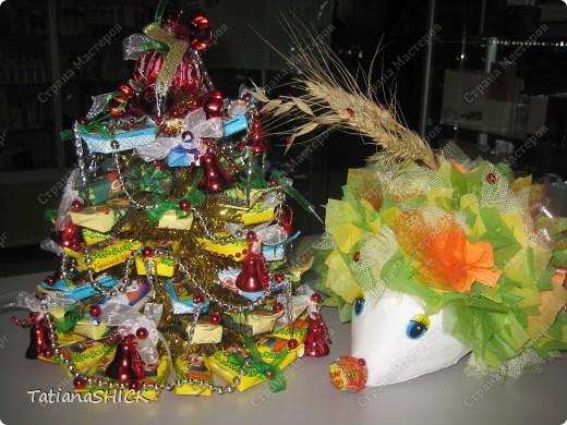 Подготовка к новому году1,5кг.конфет=1СЛАДКАЯ ЕЛОЧКА фото 3