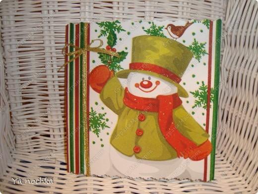 """Вот такие веселенькие """"салфеточные"""" открытки получились ))))))))))))) фото 2"""