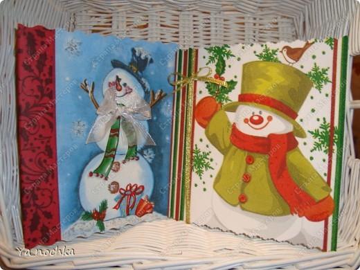 """Вот такие веселенькие """"салфеточные"""" открытки получились )))))))))))))"""