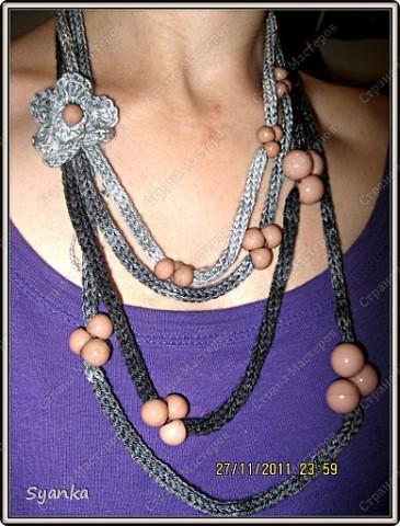 """Вечернее ожерелье """" Питерская ночь!!!!"""