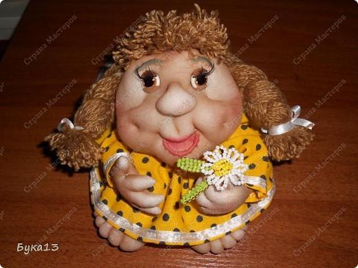 Вот сшила куклу в подарок одной милой девушке.