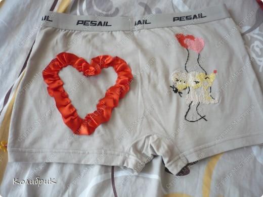 Решила сделать мужу такой вот смешной декоративный подарочек-сюрпризик:)  фото 1