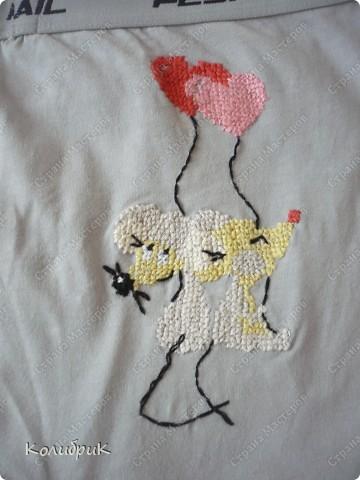 Решила сделать мужу такой вот смешной декоративный подарочек-сюрпризик:)  фото 2
