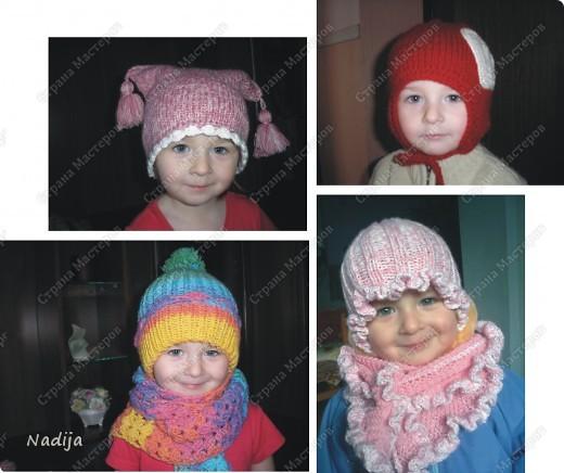Шапульки для Софийки )))) фото 1