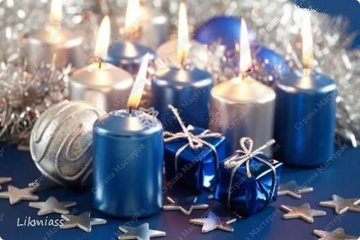 Всем привет и масса наилучших предновогодних пожеланий. Сегодня я приглашаю вас в синюю новогоднюю ночь. Открываю серию открыток «Цвет новогодней ночи» В проекте пока красная, серебряная, лиловая, ванильная. Не знаю, смогу ли воплотить все в жизнь, но вот проект существует. Итак, принимайте. Синяя новогодняя ночь. фото 13